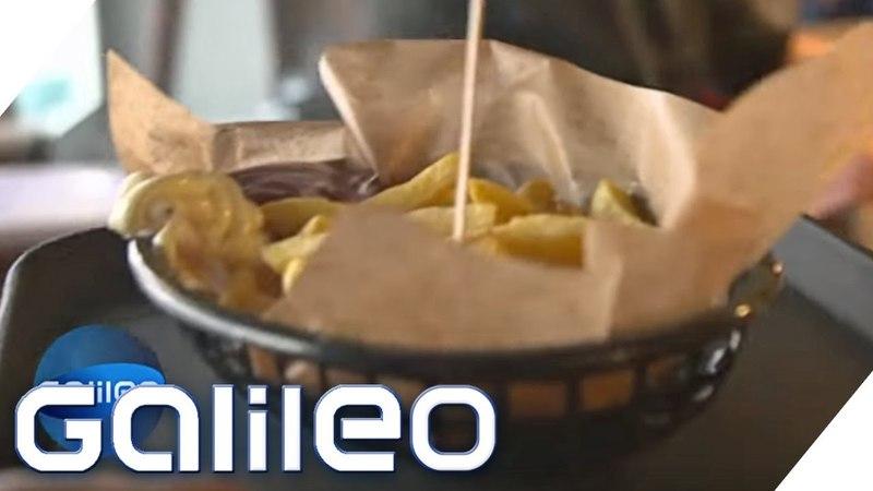 Pommes Mayo oder Ketchup was wird schneller hergestellt Galileo ProSieben