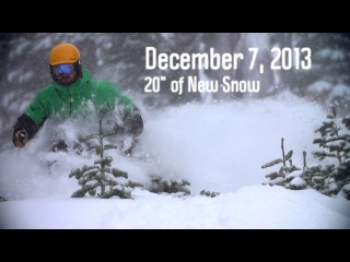 "First Big Storm | 20"" of New Snow at Squaw Valley"