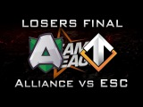 Alliance vs Escape Losers Final DreamLeague 2016 Highlights Dota 2