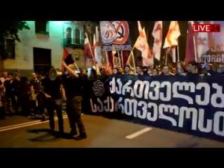 Грузинские националисты-ქართველი ნაციონალისტები (ეროვნულები #1)