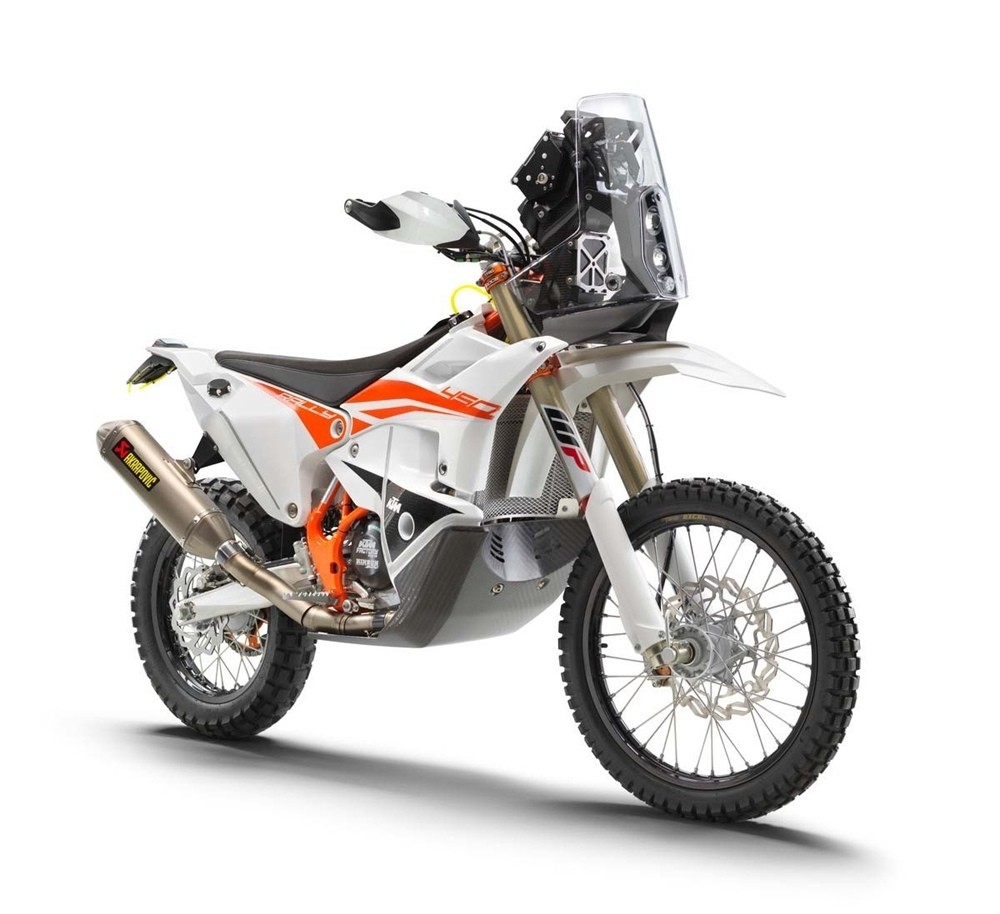 Мотоциклы KTM 450 Rally Replica 2019 отзывают из-за проблем с баком