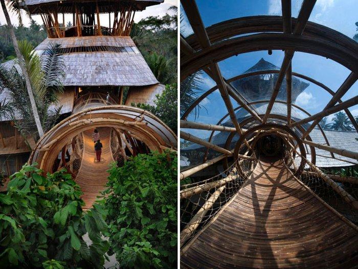 Бамбуковые дома Элоры Харди (Elora Hardy)