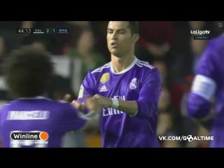 Валенсия - Реал Мадрид 2:1. Криштиану Роналду