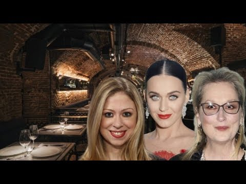 L A 's ELITE CANNIBAL RESTAURANT BOASTS KATY PERRY, MERYL STREEP AND CHELSEA CLINTON AS MEMBERS!