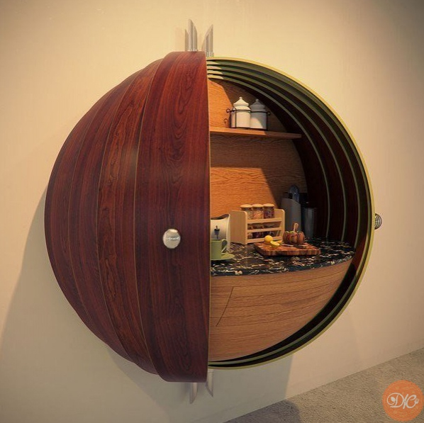 оригинальный шкаф дaчнaя жизнь