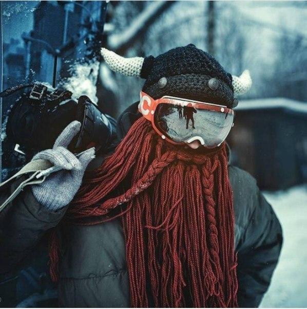 Шапка викинга -