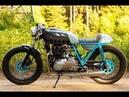 Cafe racer Kawasaki kz400 1975 by Sparta Garage