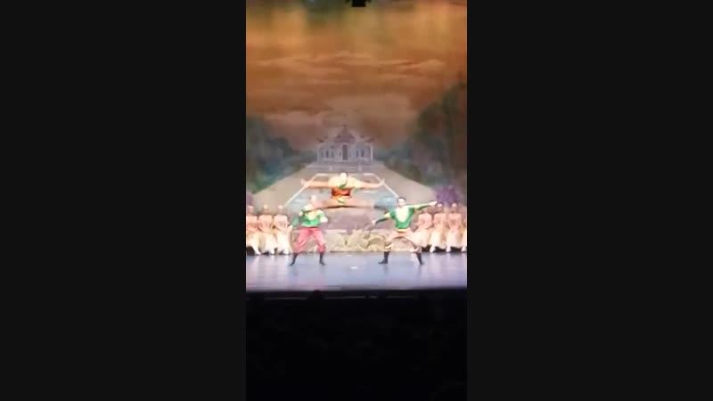 Русский танец Овации в адрес нашей балетной труппы в Германии город Лёррах