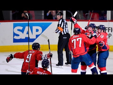 Nicklas Backstrom scores 2, dishes assist to down Blue Jackets
