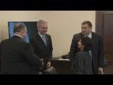 Олег Мусій зустрівся з представником Фонду Народонаселення ООН в Україні Нусхат Есан