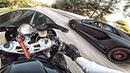ЛИТРОВЫЙ МОТОЦИКЛ BMW против LAMBORGHINI AVENTADOR Тачка за 30 МЛН РУБ надрала зад СПОРТБАЙКУ