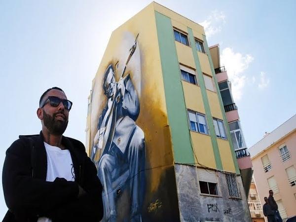 Удивительные анаморфные граффити Серхио Одейта (Sergio Odeith)