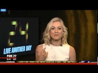 Yvonne Strahovski on FOX 29 Philadelphia