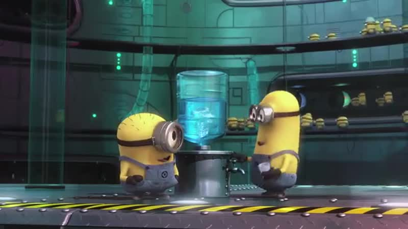 Minion Moment - Water Cooler