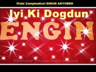 PARTE 1 - Happy Birthday EnginAkyürek tus Fans de España nos reunimos para celebrar el día de tu nacimiento. - İki ki d