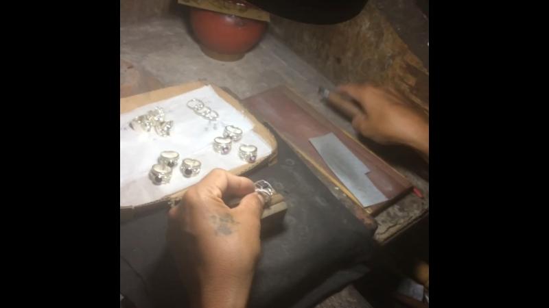 Bali цех по изготовлению серебряных украшений
