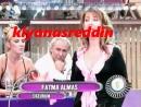 Çiğdem Tunç'un Seda Sayan'ın canlı yayın tv programında memeleri fırlayacak - erotik bobs on tv in turkey