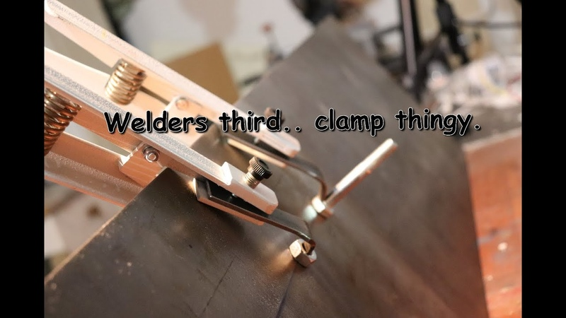Welders third... clamp thingy. -How to-