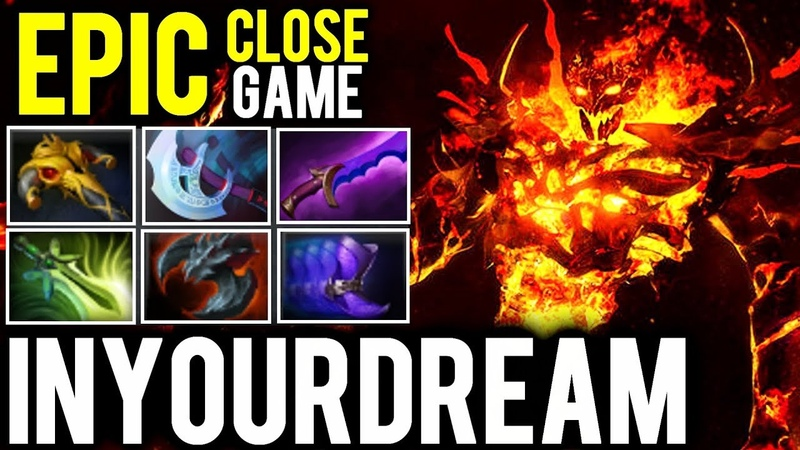 Inyourdream Shadow Fiend Right Click Build - Epic Close Game