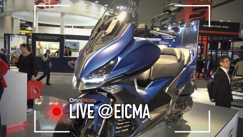Kymco Xciting S 400, CV2 e CV3 | EICMA 2017