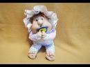 Пупс из колготок / kewpie doll of tights
