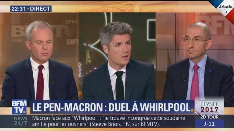 Jean Messiha administre une leçon d'économie au macroniste François de Rugy