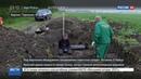 Новости на Россия 24 Погибшие в последние дни войны под Берлином найдено захоронение советских солдат