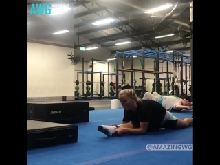 Sls amazing flexible and strong girl - gymnastics motivation 2018