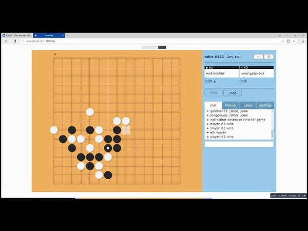 Denis Osipov's live commentary of his one-minute gomoku games against Zoltán László: Full video