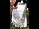 Белая ажурная юбочка в пол - Handmade by Irena Tsys