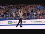 Yuzuru Hanyu FS WC 2012 дорожка шагов