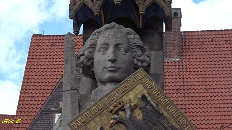 Бремен, Германия ( Bremen, Germany) Город бременских музыкантов. Бременская ратуша.