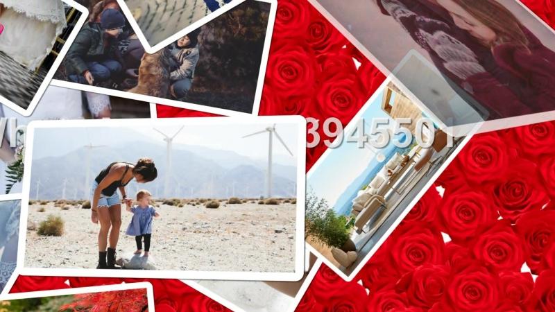 Slideshow Rose Закажите чудесный видео-клип из фотографий для ваших любимых. В ярком ролике будут запечатлены все самые незабыва