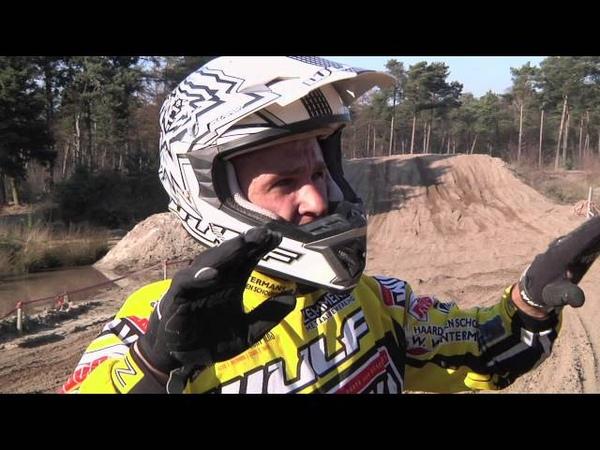 Etienne Bax Kaspars Stupelis trainen in Eersel Br
