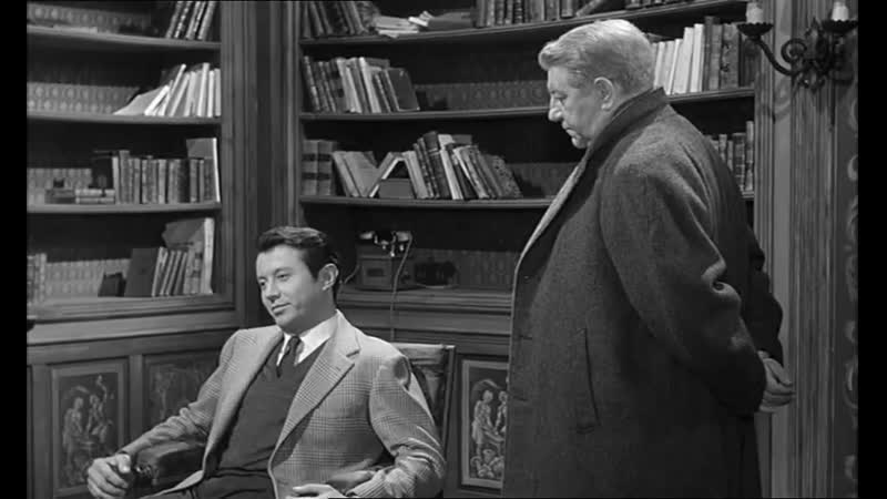 «Мегрэ и дело Сен-Фиакр» (1959) - детектив, реж. Жан Деланнуа