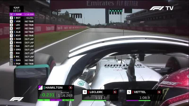 Формула 1. Сезон 2019. Етап 5. Гран-Прі Іспанії. Кваліфікація (11.05.2019) WEBRip 1080p Ukr/Eng