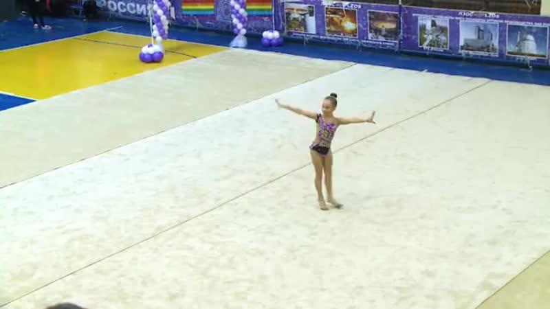 Порядка 50 воспитанниц отделения художественной гимнастики Лыткаринской спортивной выступили на открытом Первенстве города Лытка