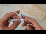 Варежки крючком - Видео урок для начинающих