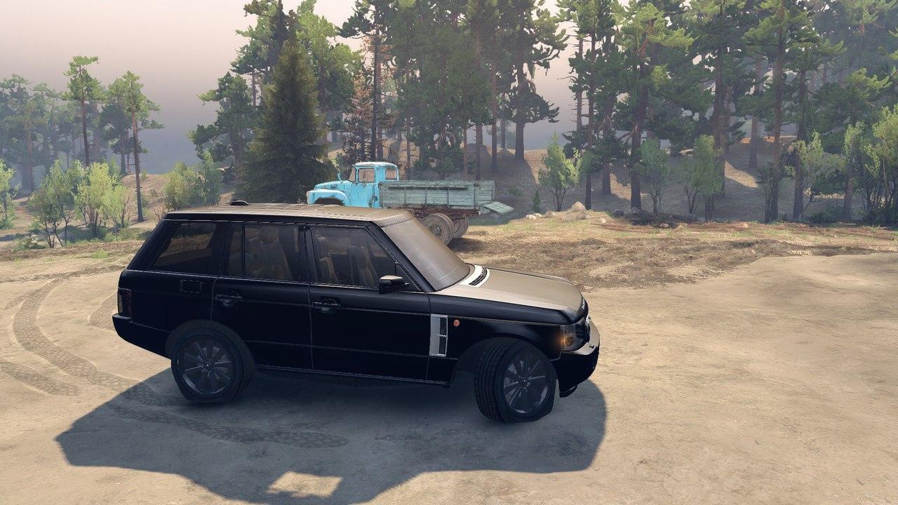 Range Rover Sport Black Final для Spintires - Скриншот 3