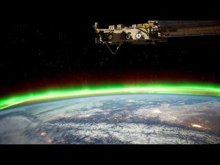 Ночной вид с МКС на землю