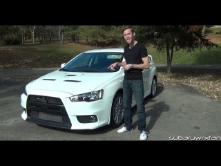 Review: 2013 Mitsubishi Lancer Evolution X GSR