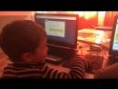 Видео с урока Первый код в жизни маленького человека, группа 5-7 л