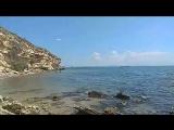 Море, пляж и Крымский мост