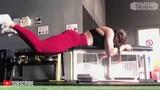 Kiki Vhyce workout 3 Spartan Bodybuidling