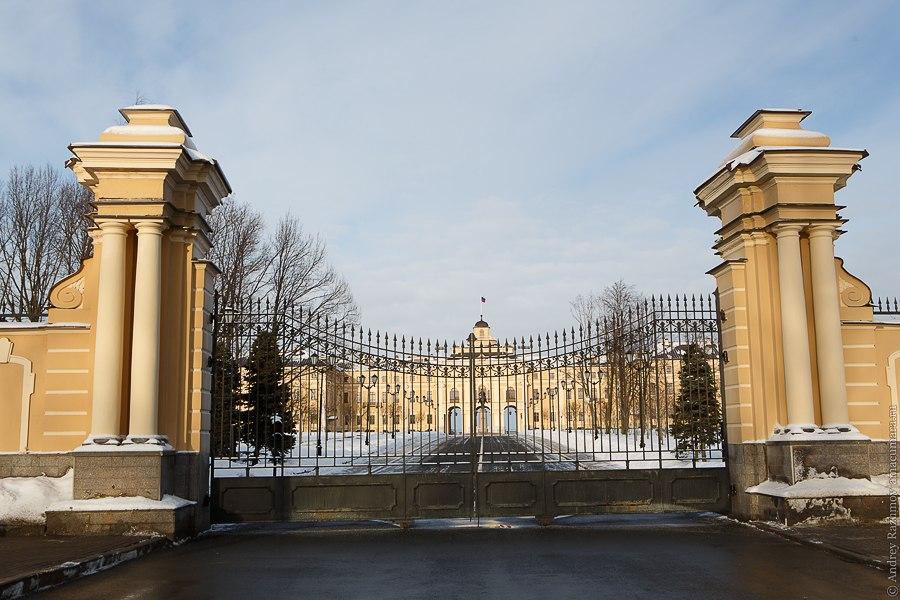 Константиновский дворец Стрельна арка