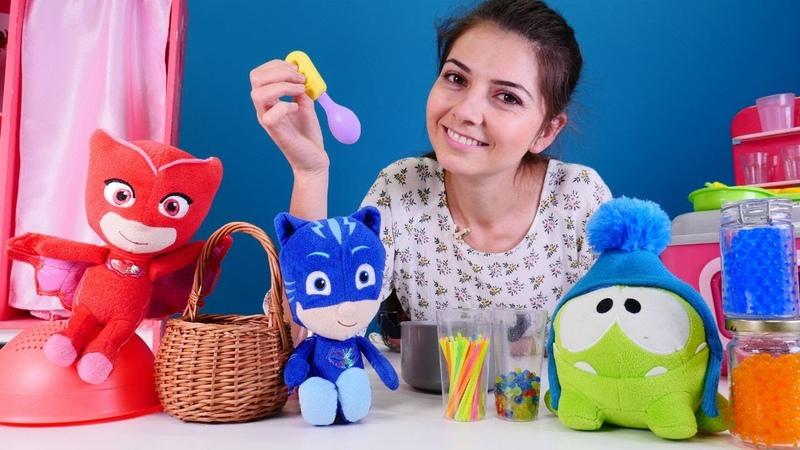 Pijamaskeliler oyuncakları ile çilek reçeli | Keyif Okulu