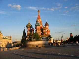 Организация экскурсионной поездки в Москву