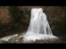 Вот это водопад - Шикарные потоки воды в реке Улу-Узень Восточный в декабре