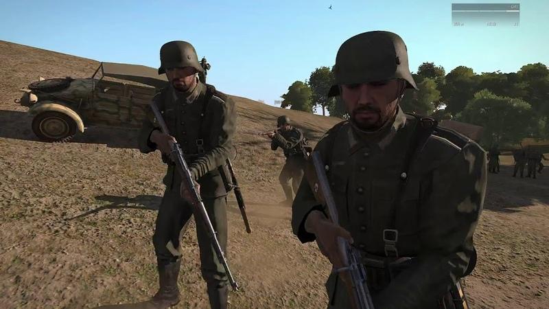 ArmA 3 Red Bear Iron Front - целый час бега :D