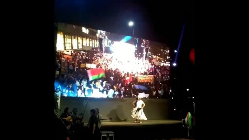 На параде Терра Мадре 2018